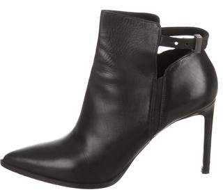 Vince Pointed-Toe Ankle Boots