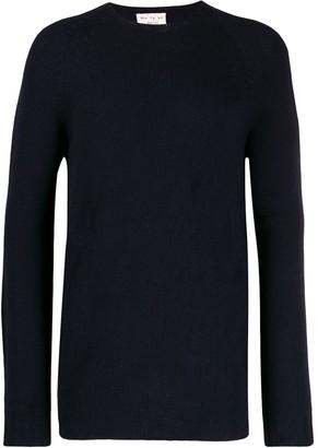 Ma Ry Ya Ma'ry'ya ribbed knit detail sweater