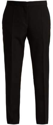 Burberry Straight Leg Trouser - Womens - Black