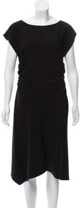 Halston Sleeveless Midi Dress w/ Tags