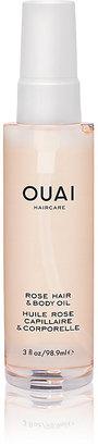 OUAI Haircare Women's Rose Hair & Body Oil $32 thestylecure.com