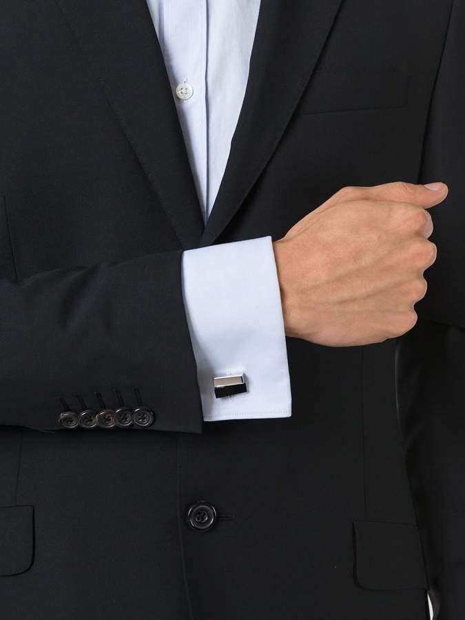 Lanvin textured cufflinks