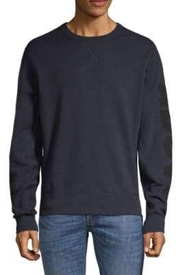 7 For All Mankind Long-Sleeve Cotton Sweatshirt