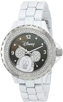 Disney Women's 'Mickey Mouse' Quartz Metal and Alloy Watch