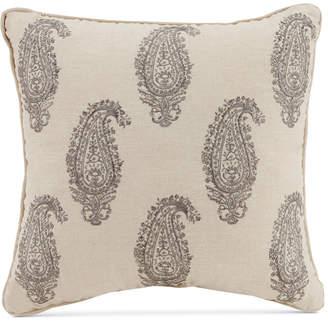 "Vera Bradley Gray Paisley 16"" Square Decorative Pillow Bedding"