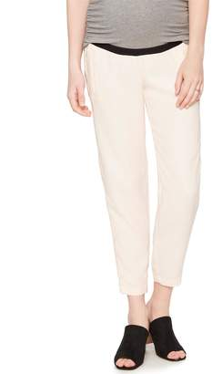 A Pea in the Pod Under Belly Crepe Skinny Leg Maternity Pants