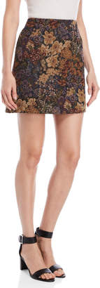 Ottod'ame Floral Mini Skirt