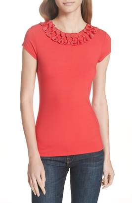 Ted Baker Charre Bow Neck Tee