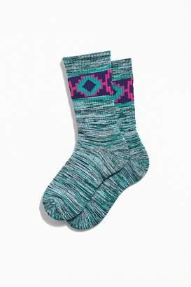 Urban Outfitters Marled Geo Sock