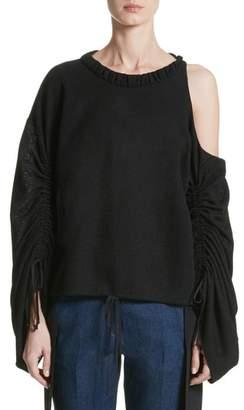 Hellessy Joshua Cold Shoulder Pullover