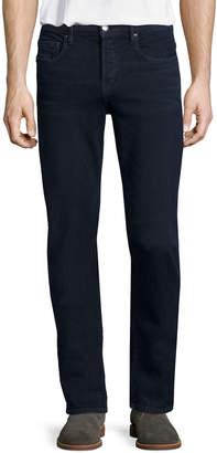 Frame L'Homme Placid Straight-Leg Jeans, Dark Blue