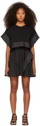 3.1 Phillip Lim Black Box Crop Top Dress