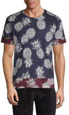 Valentino Tropical Cotton Tee