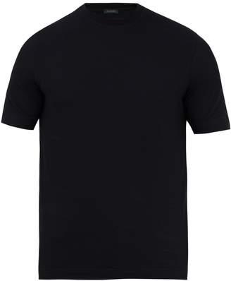 Zanone Crew-neck cotton T-shirt