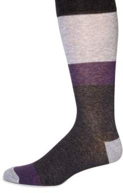 Saks Fifth Avenue COLLECTION Bold Stripe Socks