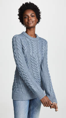 Theory Twisting Cable Sweater