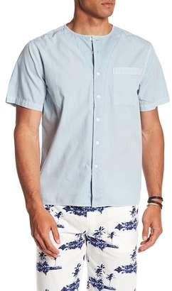 Saturdays NYC Pontus Short Sleeve Front Button Shirt
