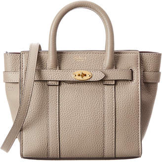 Mulberry Bayswater Micro Zipped Leather Tote