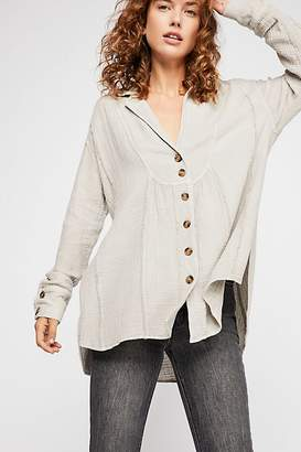 All About The Feels Buttondown Top