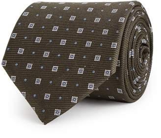 Reiss Grant - Silk Tie in Khaki