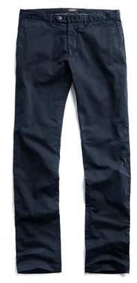 Todd Snyder Extra Slim Fit Tab Front Stretch Chino in Navy