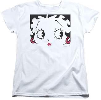 Betty Boop Cartoon Close Up Women's T-Shirt Tee