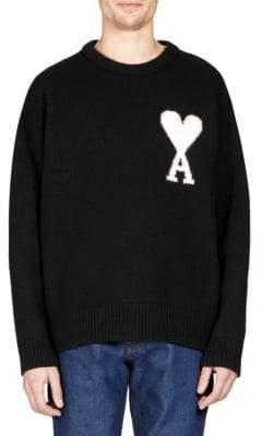 Ami Oversize Wool Sweater