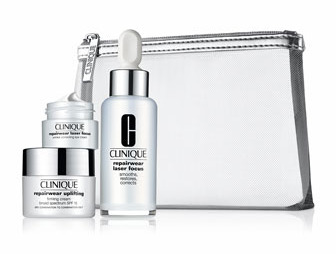 Clinique Limited Edition RepairWear Laser Focus De-Aging Kit