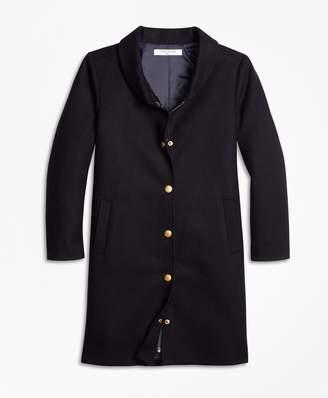 Brooks Brothers Melton Long Coat