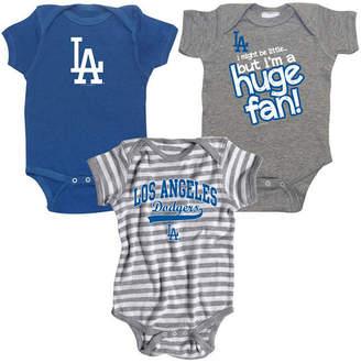 Soft As A Grape Los Angeles Dodgers Huge Fan 3-Piece Set, Infants (0-9 Months)