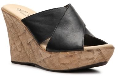 Callisto of California Haddie Wedge Sandal