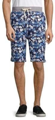 PRPS Lemonade Printed Cotton Shorts