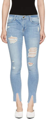 Frame Blue Le Skinny Jeans