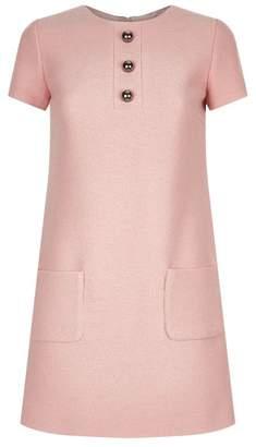 Paule Ka Button A-Line Dress