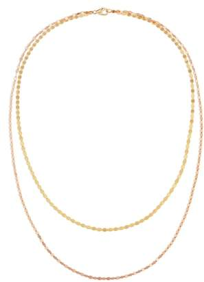 Lana Blake Double Layer Chain Necklace