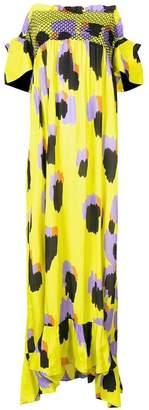 Just Cavalli off-shoulder long dress