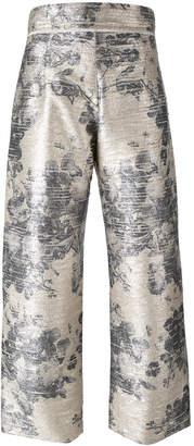 Aviu floral print pants