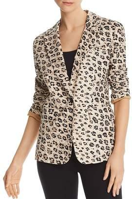 Joie Anilah Leopard-Printed Blazer