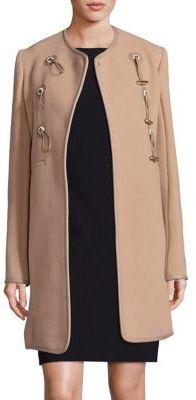 CarvenCarven Solid Long Sleeve Coat