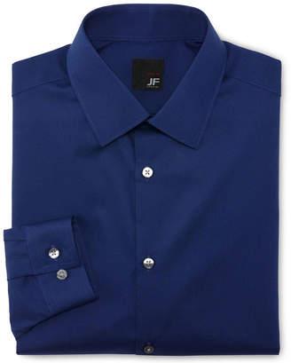 Jf J.Ferrar JF Solid Dress Shirt - Slim Fit