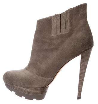 Jean-Michel Cazabat Suede Cutout Booties low price fee shipping for sale latest sale online for cheap VEaA4N