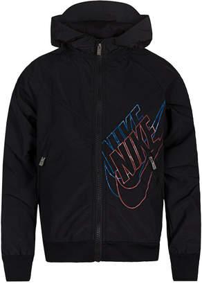 Nike Little Boys Sportswear Graphic Windrunner Hooded Jacket
