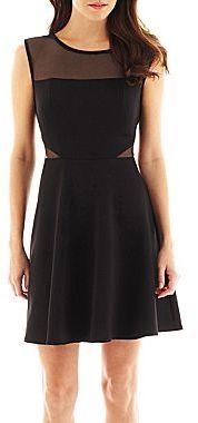 Bisou Bisou Illusion Cutout Dress