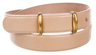 Donna Karan Leather Hip Belt