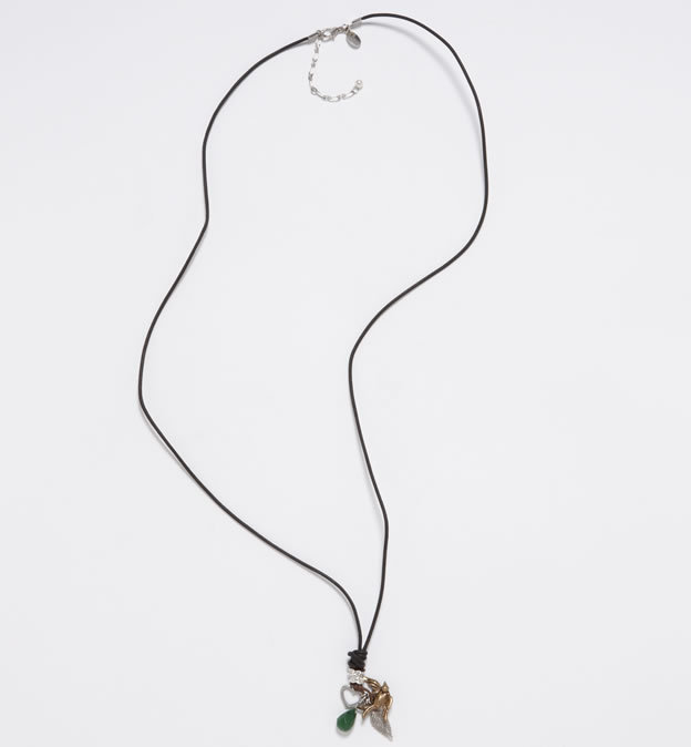 AE Leather Cord Necklace