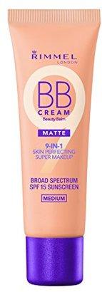 Rimmel Match Perfection BB Cream Foundation Matte, Medium, 1 Fluid Ounce $6.99 thestylecure.com