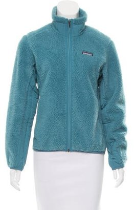 Patagonia Fleece Zip-Up Jacket $95 thestylecure.com