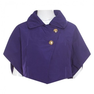 Louis Vuitton Purple Polyester Jackets