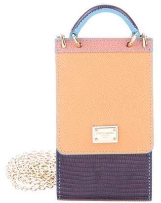 Dolce & Gabbana Colorblock Phone Bag