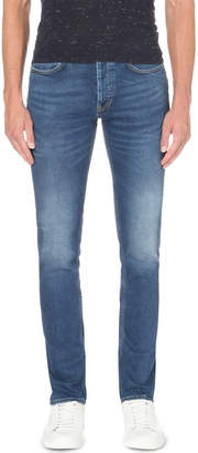 Sandro Slim-fit tapered stretch-denim jeans